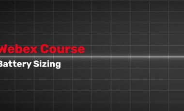 Battery Sizing Course