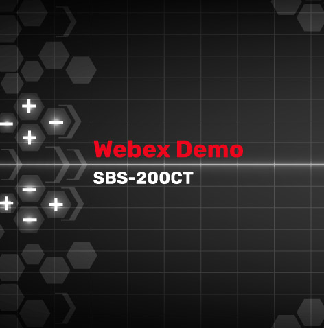 SBS-200CT Webinar
