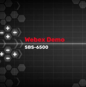 SBS-6500 Webex