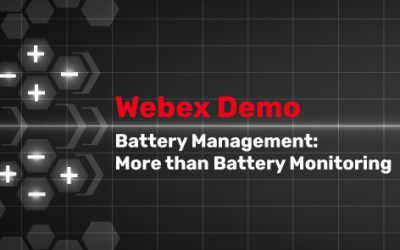 Battery Management More than Battery Monitoring Webinar