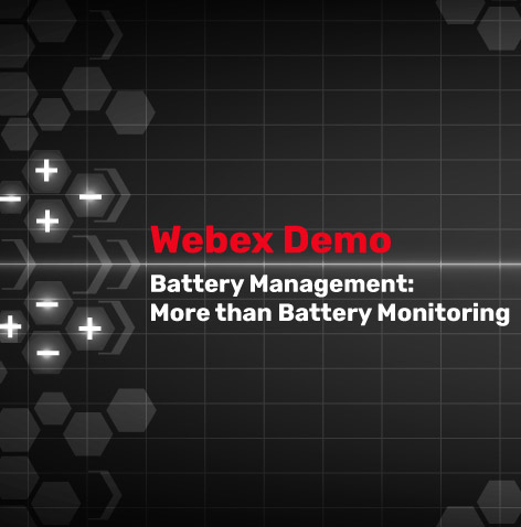 Battery Management Webinar
