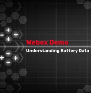 Understanding Battery Data Webinar